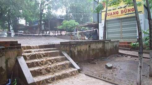 Rain in Vietnam